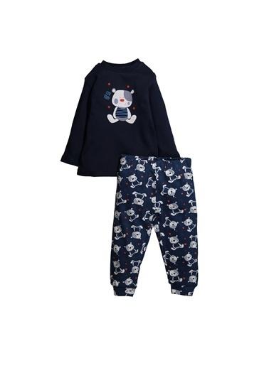 Zeyland Cute Teddy Baskılı Pijama Takımı (1-4yaş) Cute Teddy Baskılı Pijama Takımı (1-4yaş) Lacivert